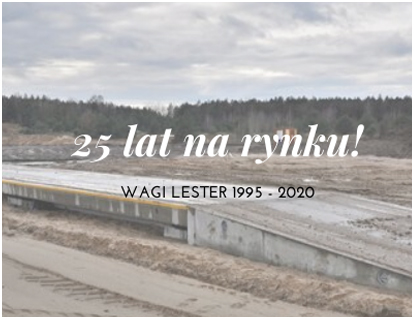 LESTER – 25 lat na rynku!